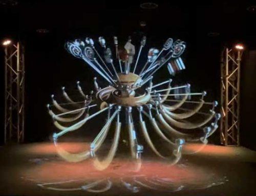 NFT Audiovisual Sculpture and Vequencer Remix
