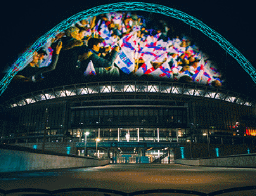 Projection Artworks takes Hologauze® to Wembley