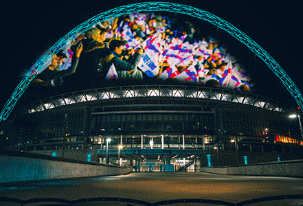 wembly arch socer highlights hologauzde