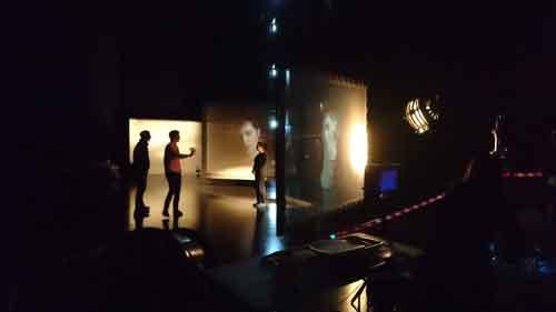 hologauze project set up hologram